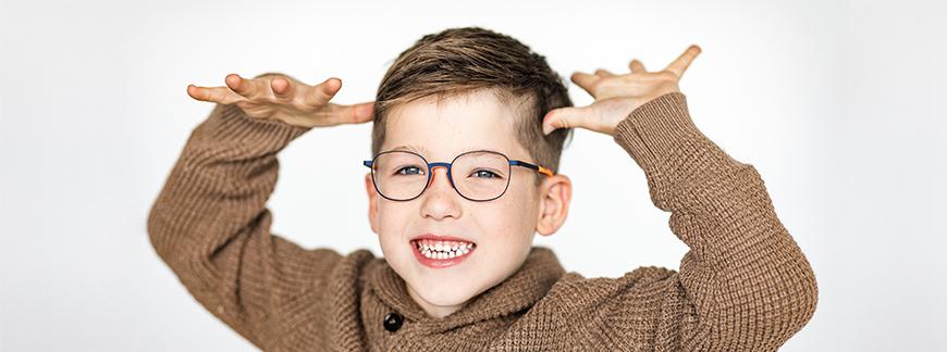 Obtenez un remboursement pour les lunettes et les lentilles de vos enfants